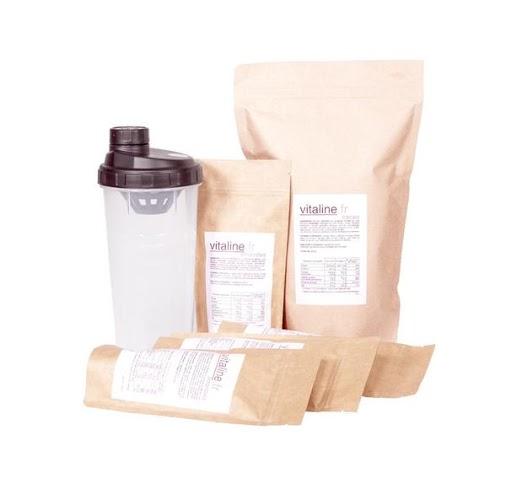 Sachets de repas en poudre Vitaline