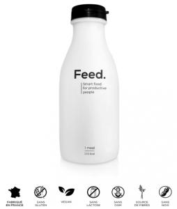 Bouteille de repas liquide prêt à consommer Feed.