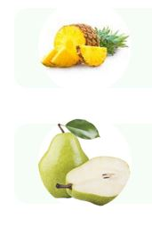 Deux éditions limitées de Queal: ananas et poire