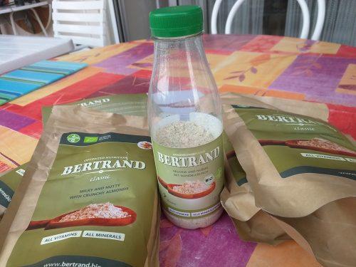 Une bouteille de Bertrand pré-dosée