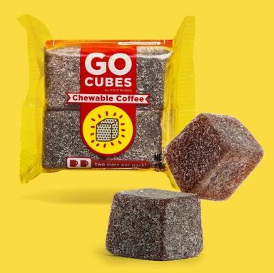Go Cubes, le café à mâcher