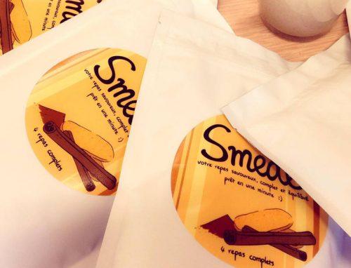 Sachets de Smeal Speculoos (crédit : Smeal.fr)