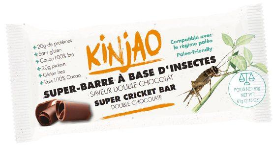 La barre Kinjao, à la farine de grillon