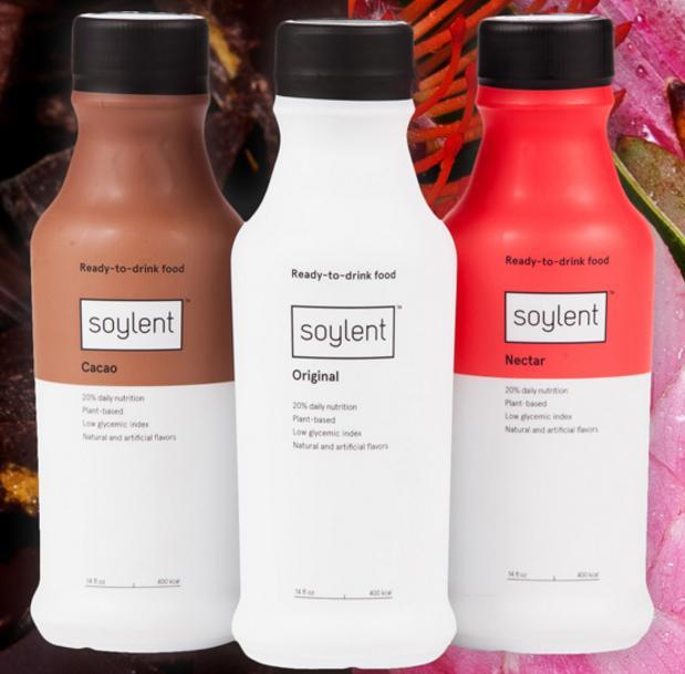Nouveaux arômes Soylent 2.0 (crédit : soylent.com)