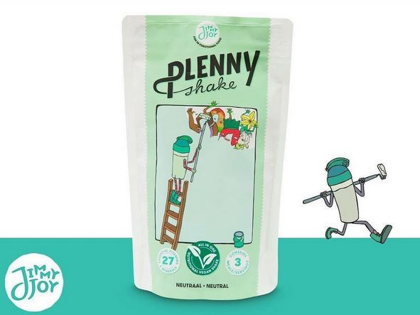 L'annonce du Plenny Shake Neutral de Jimmy Joy