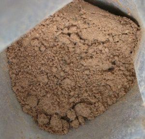 La poudre Nutberg cacao, jolie couleur appétissante.