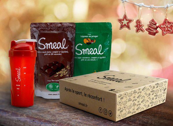 La box de Noël Smeal (crédit : smeal.fr)
