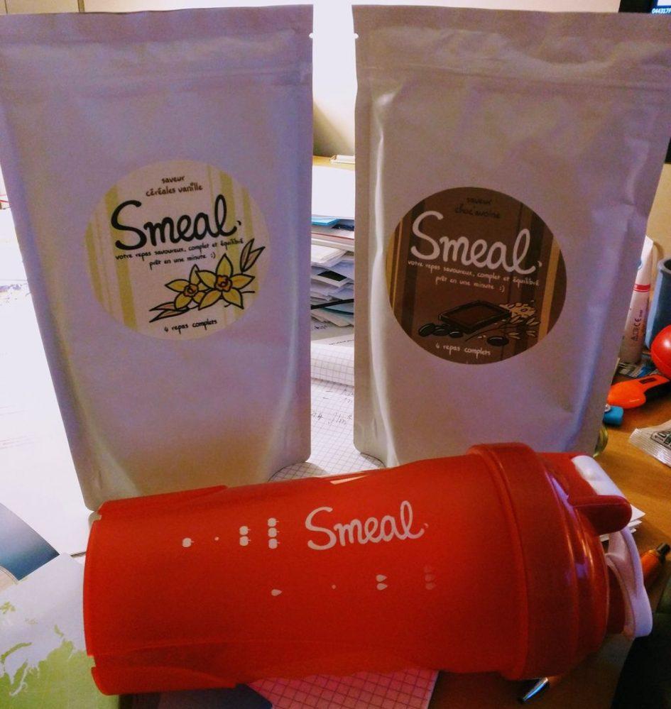 Au menu de cette semaine : Smeal Céréales vanille et Smeal Choc'avoine !