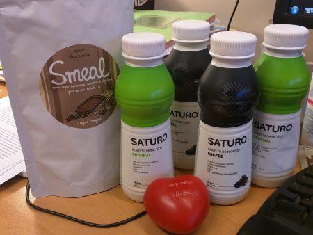 Au menu de cette semaine : Smeal Choc'avoine et Saturo Coffee / Original !