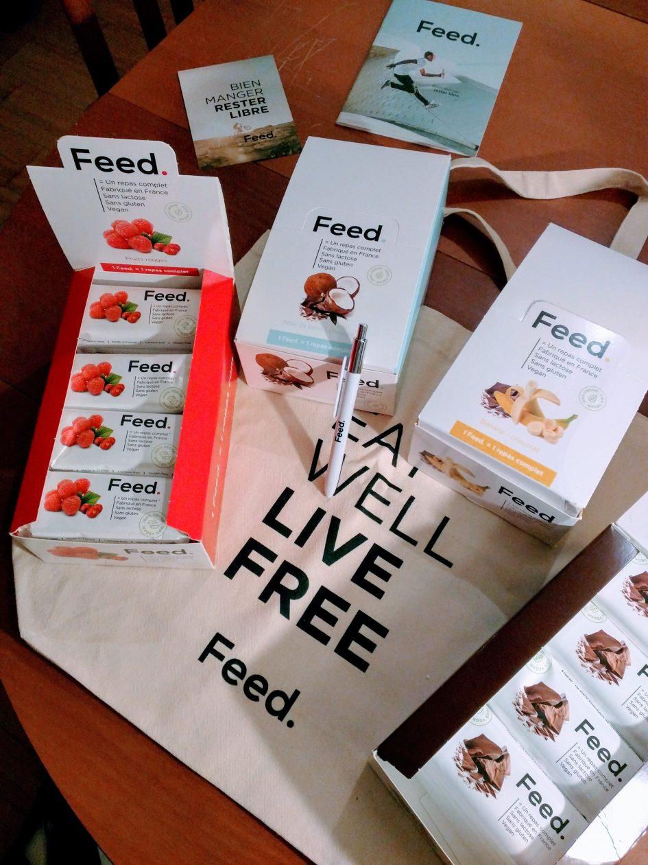 Les nouvelle boîtes Feed