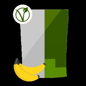 Queal Vegan à la banane (source : queal.com)
