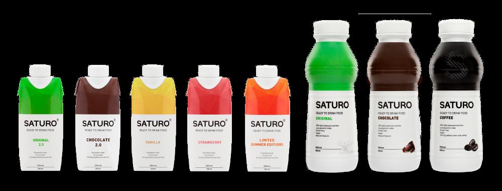 La gamme Saturo, finalement bien équilibrée.