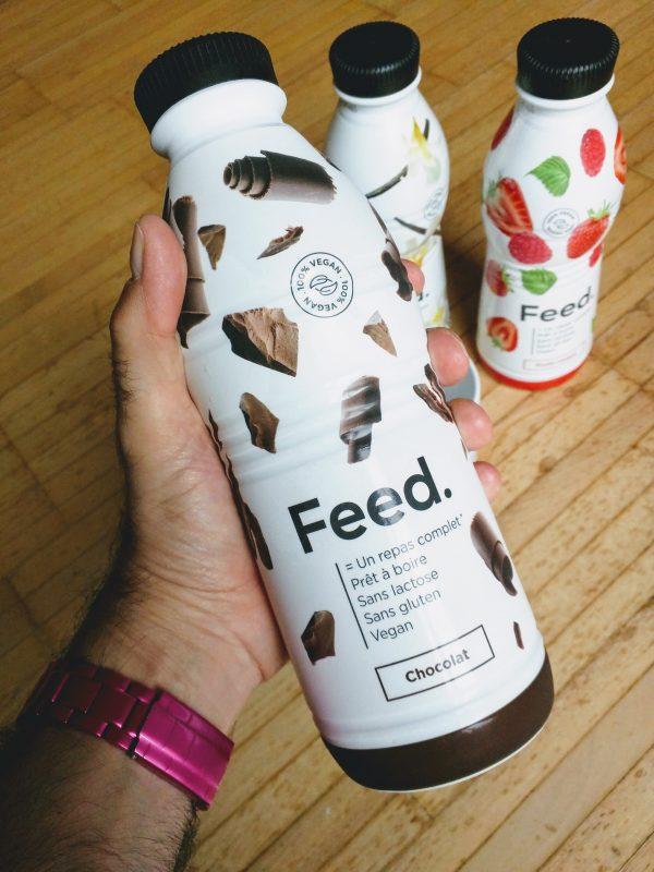 Reçu ce matin les nouvelles bouteilles prêtes-à-boire Feed. Avec leur 750 ml, elles sont plutôt impressionnantes!