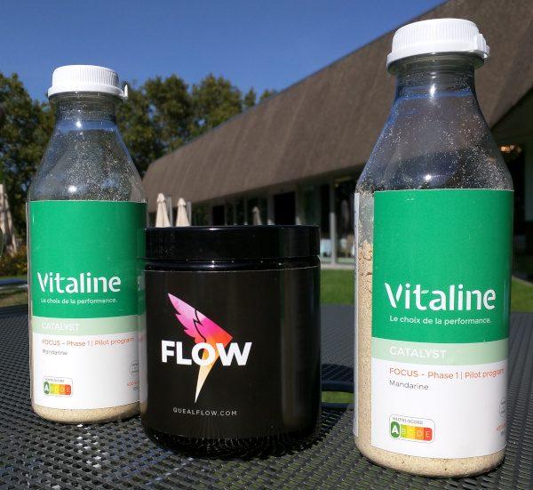 Vitaline Focus et Queal Flow, les premiers nootropiques des fabricants de repas en poudre.
